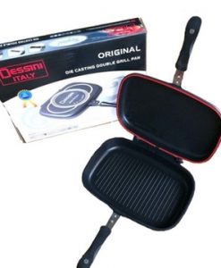 non stick grill pan double sided dessini