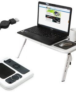 E-Table Portable Foldible Laptop Table Stand