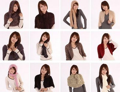 Magic Scarf - 26 ways to wear