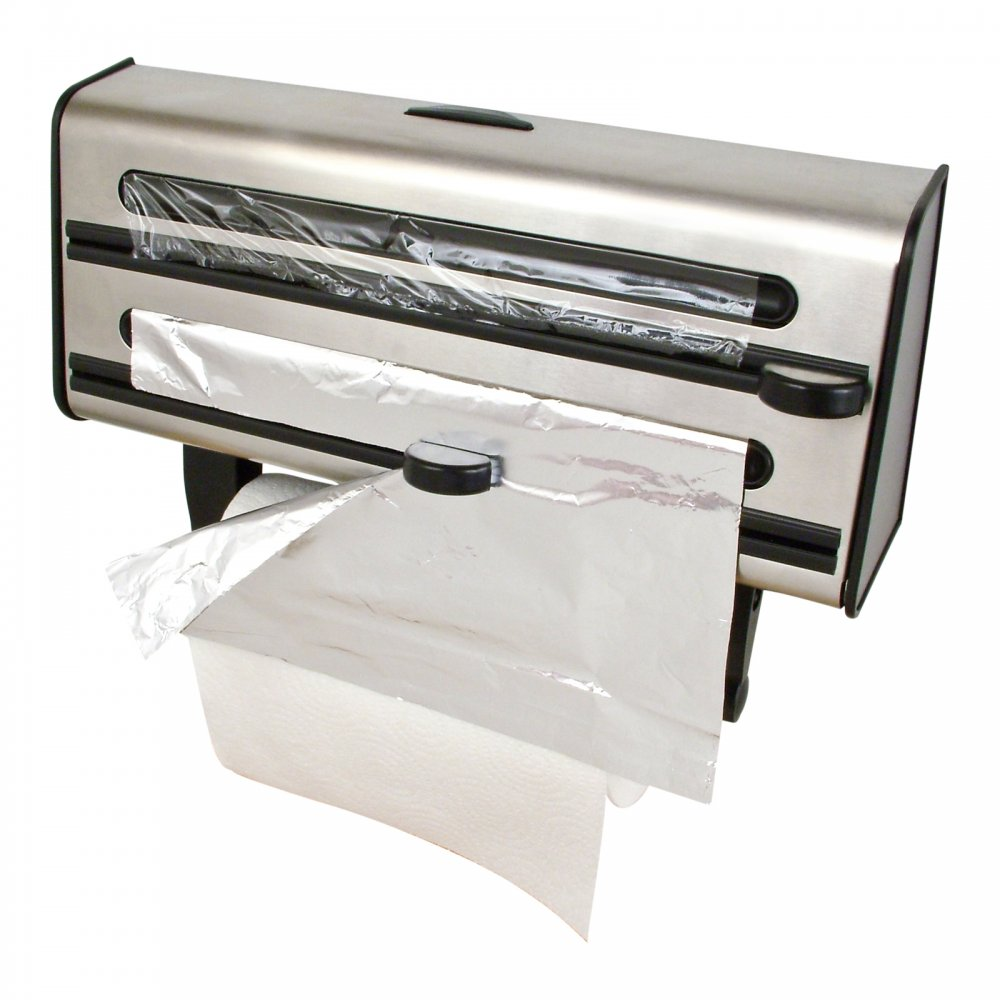 Prestige 3in1 Stainless Steel Multi Roll Dispenser