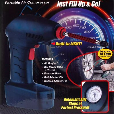 Air Dragon Portable Auto Air Compressor