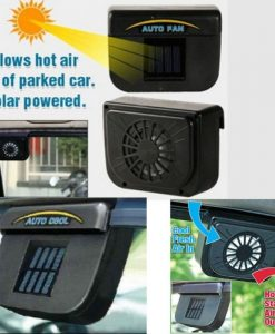 solar powered car fan