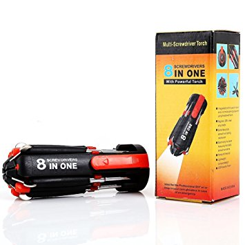 8in1 Multi Screwdriver with Torch