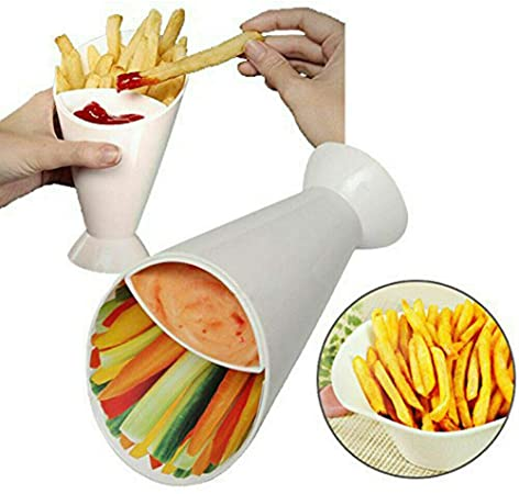 snack french fries holder